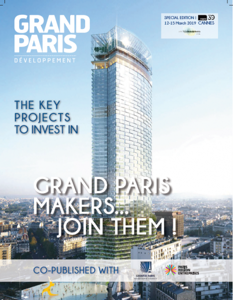 MIPIM 2019 / Key projects in Grand Paris region
